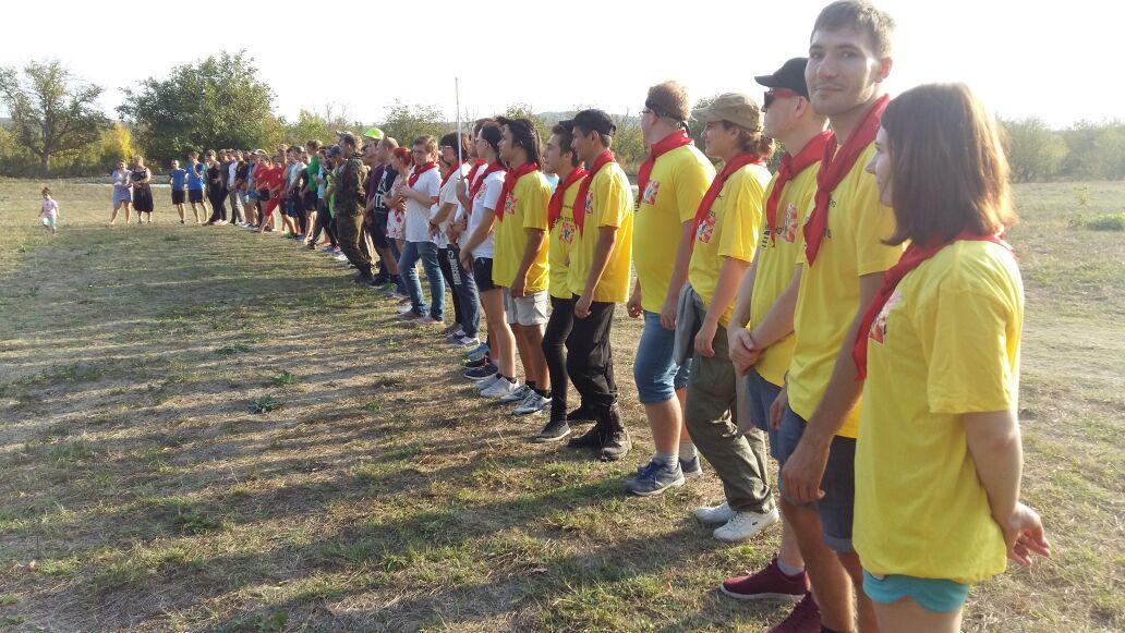 Молодежный форум #НовороссВперед! встретил участников на Натухаевских полянах