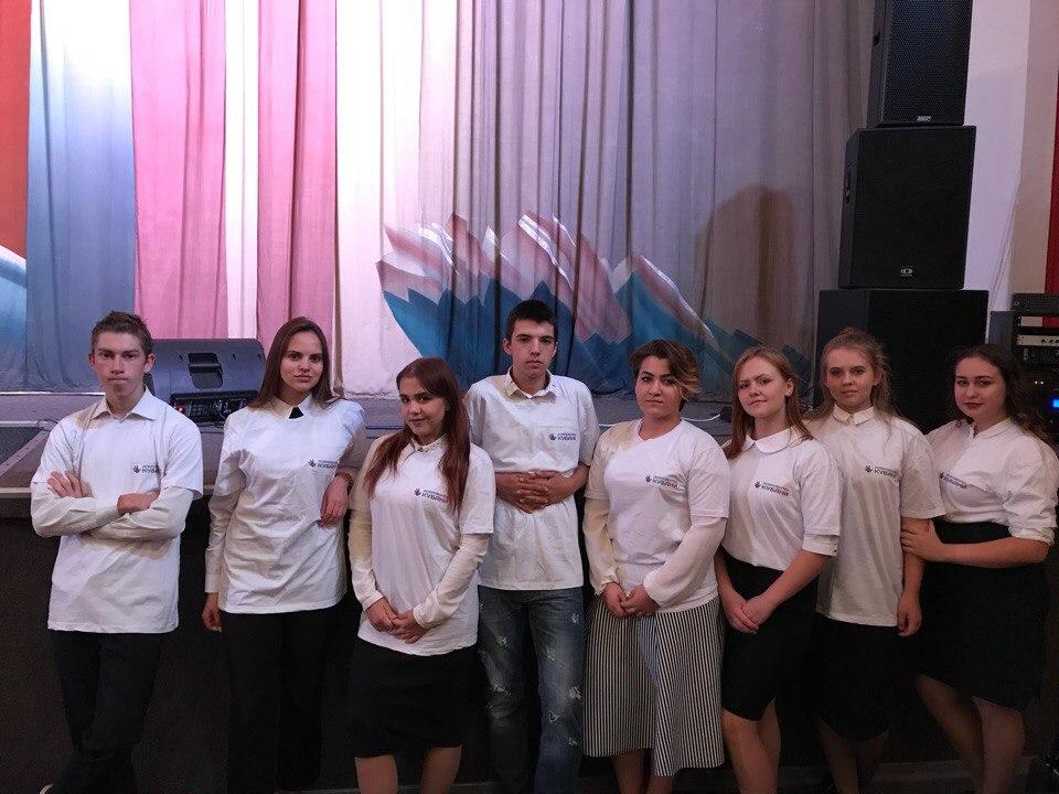 Добровольцы Кубани приняли участие в праздничном концерте в рамках Дня пожилого человека