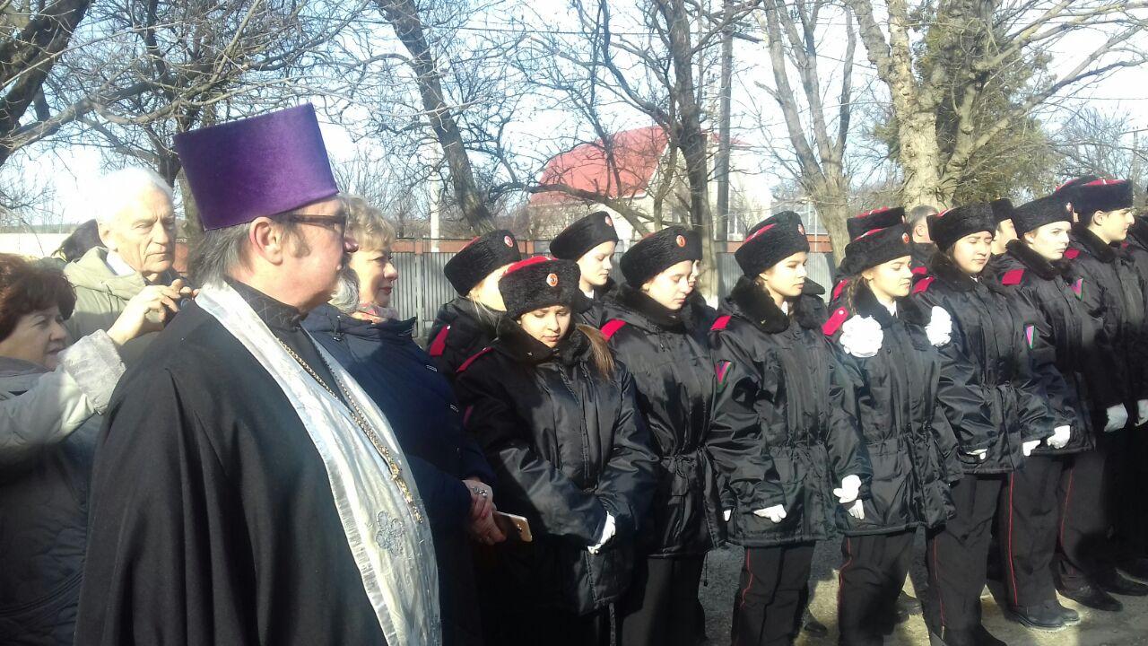 Центр казачьей молодежи «Ермак» открылся в станице Натухаевка