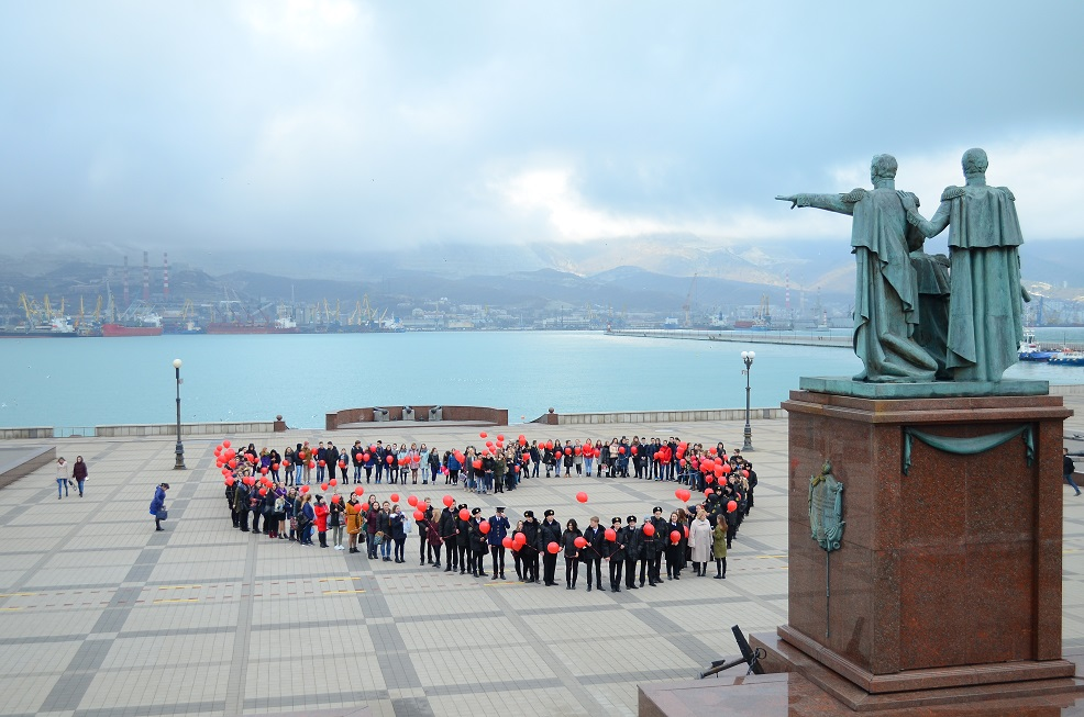 Организован флешмоб «Мы вместе», в рамках поддержки детей имеющих онкологические заболевания