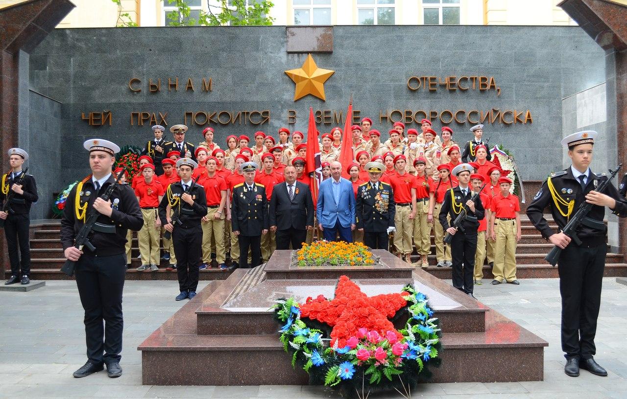 12 мая в Новороссийске в ряды юнармейцев приняли 20 юных жителей Белоглинского района