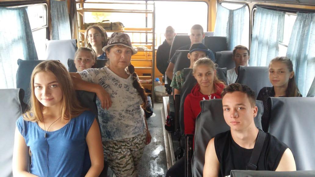 Делегация города Новороссийска отправилась на краевую смену  «Славянская кругосветка»