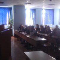 Сегодня, 05.10.2018 г. на базе Новороссийского колледжа строительства и экономики прошла беседа на тему: «Осторожность не бывает лишней»