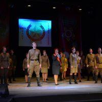Сегодня в Морском культурном центре прошел Торжественный вечер, посвященный закрытию 24 Слета Союза городов-героев «Звезды городов-героев».