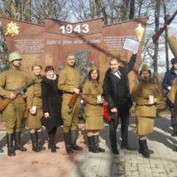 Прошел митинг в память по погибшему морскому десанту в рамках военно-патриотической акции «Бескозырка».