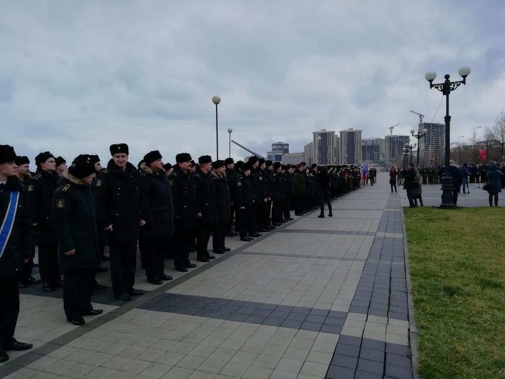 Митинг «Одно слово Сталинград»
