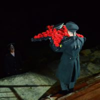 Всероссийская военно-патриотическая акция «Бескозырка» закончилась массовым шествием колонны от памятника «Матрос с гранатой» до плацдарма «Малая Земля»