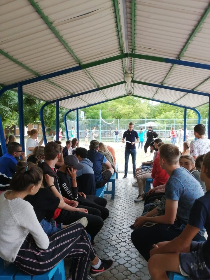 Проведена беседа с молодежью на тему: «Что такое экстремизм?»