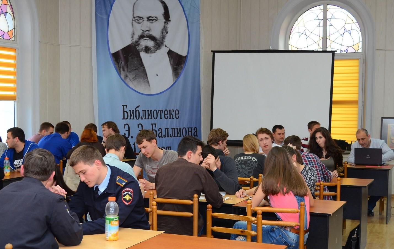 Прошел 7 этап Студенческой лиги г.Новороссийска