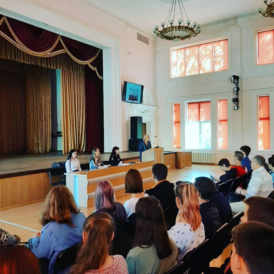 Профилактическая беседа о воспитании правовой грамотности студентов