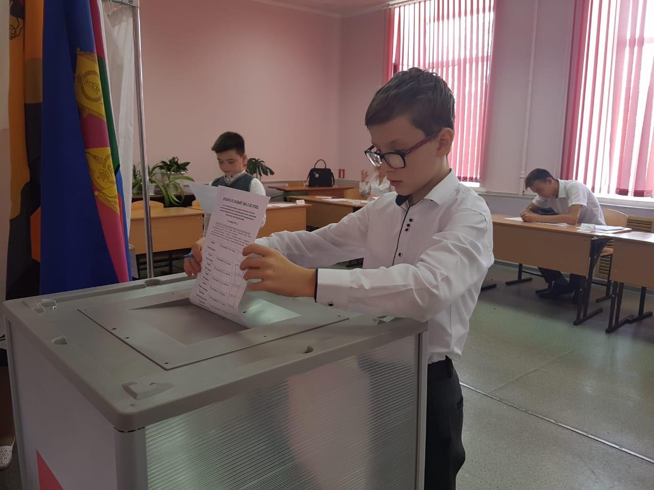 21 октября завершились выборы ученического самоуправления в МО Новороссийск