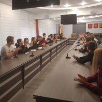 Заседание с кандидатами в Молодежный парламент