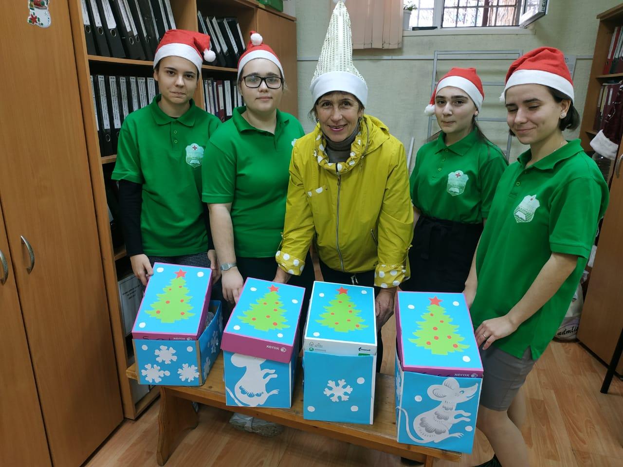 Акция «Подарок Деда Мороза».