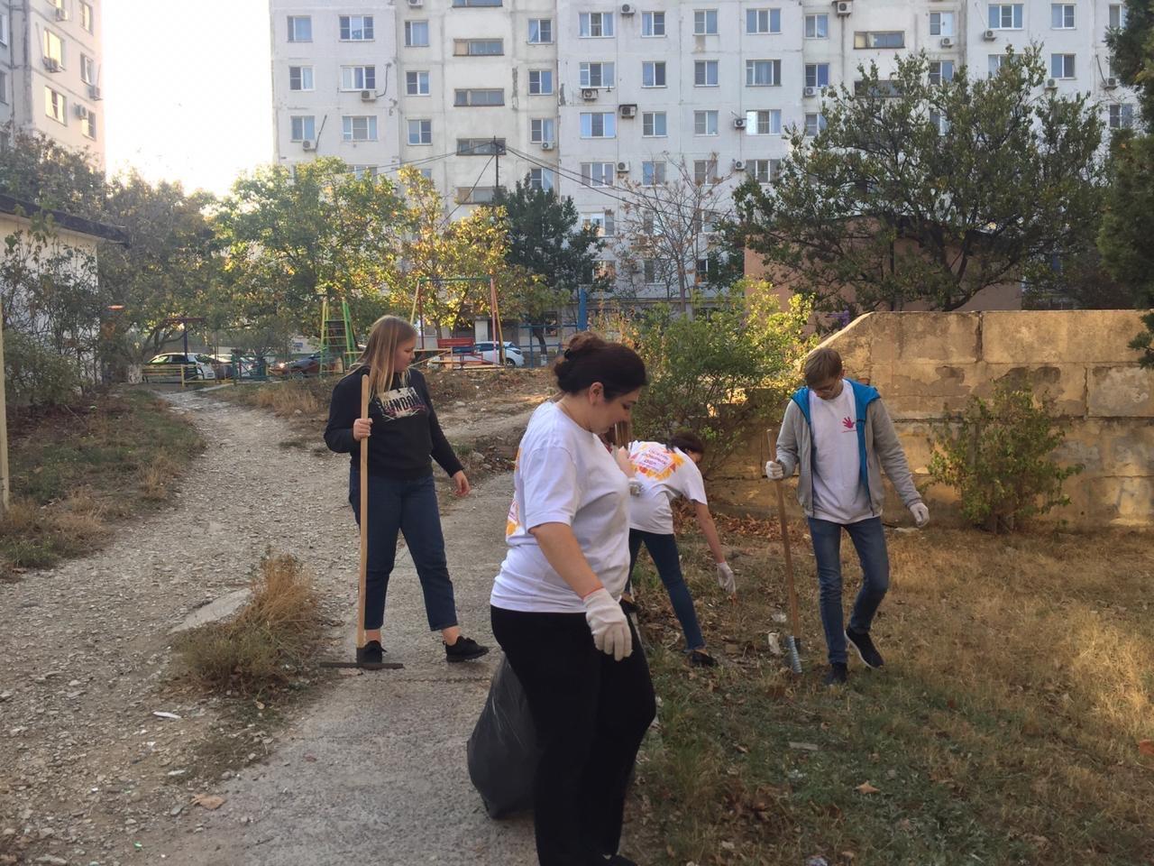 Ученический совет провёл экологическую акцию