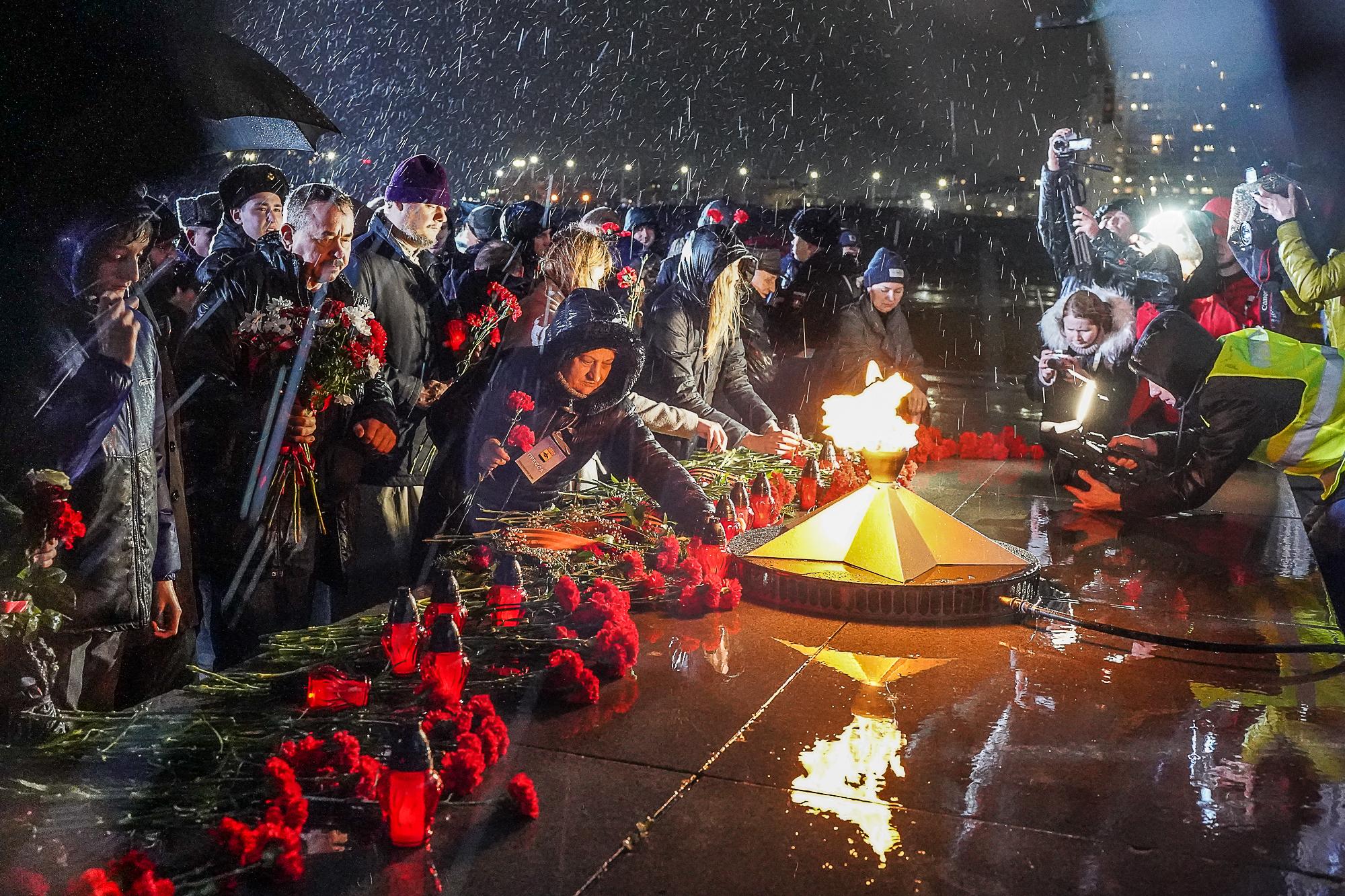 В Новороссийске состоялась традиционная Всероссийская военно-патриотическая акция «Бескозырка».