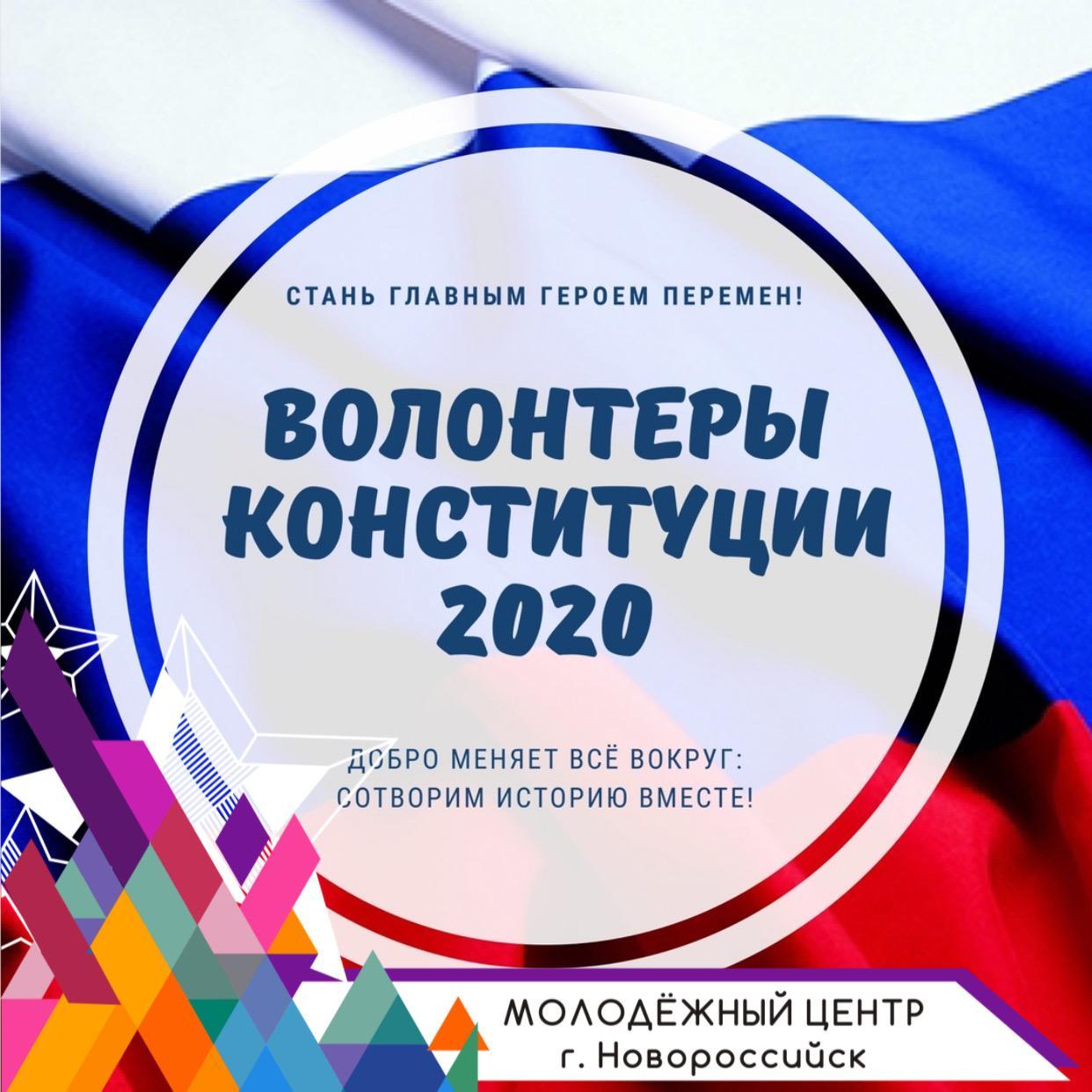 Реализация проекта «Волонтеры Конституции»